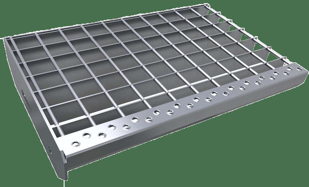Platform grating
