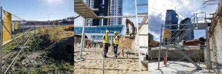 Realisation rental mobilt smart tas Gdynia sea towers Poland