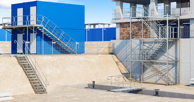 An easy and quick to install, yet secure modular solution for temporary duckboards and staircases. It is a perfect alternative to commonly built, temporary wooden structures.