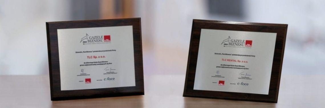 TLC Rental azele biznesu award