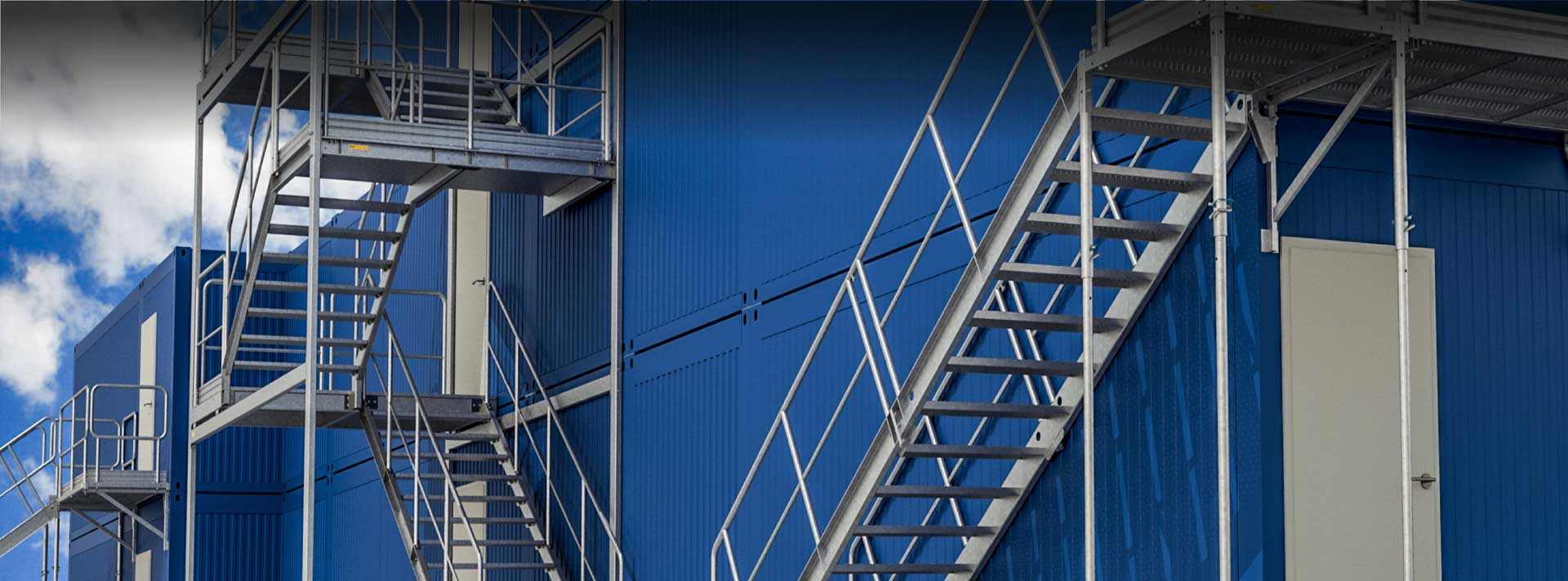 Container-stairs