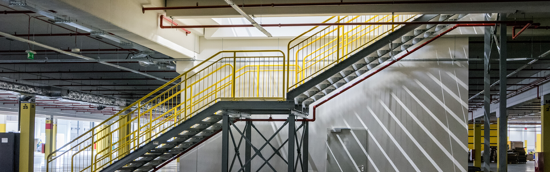 Industrial Access Stairs
